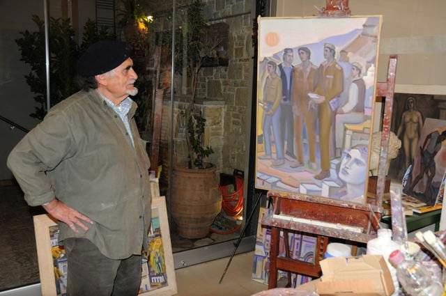 Giorgos Pitsios -  atelier pictura - Atena - Grecia - foto lucian muntean10