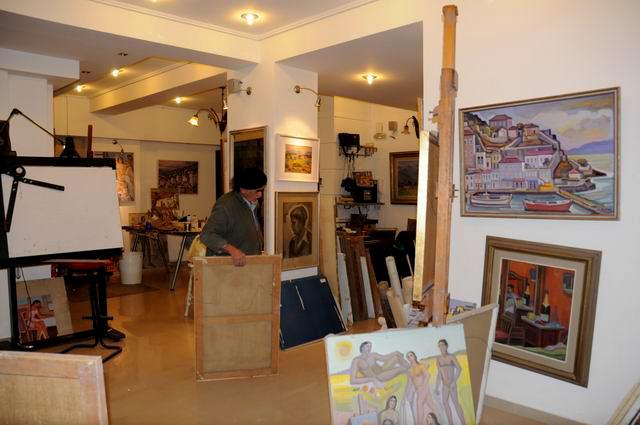 Giorgos Pitsios -  atelier pictura - Atena - Grecia - foto lucian muntean11