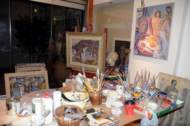 Giorgos Pitsios -  atelier pictura - Atena - Grecia - foto lucian muntean13