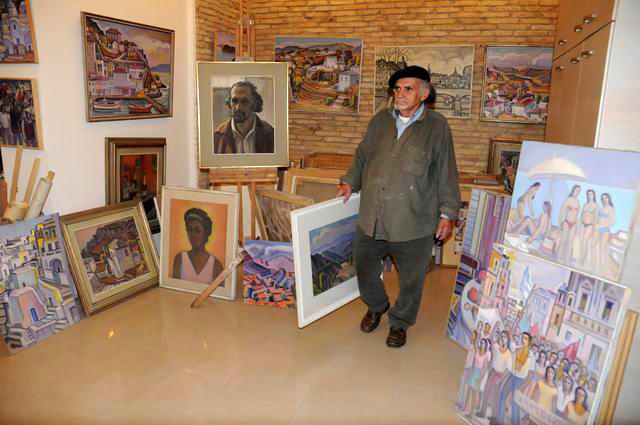 Giorgos Pitsios -  atelier pictura - Atena - Grecia - foto lucian muntean24