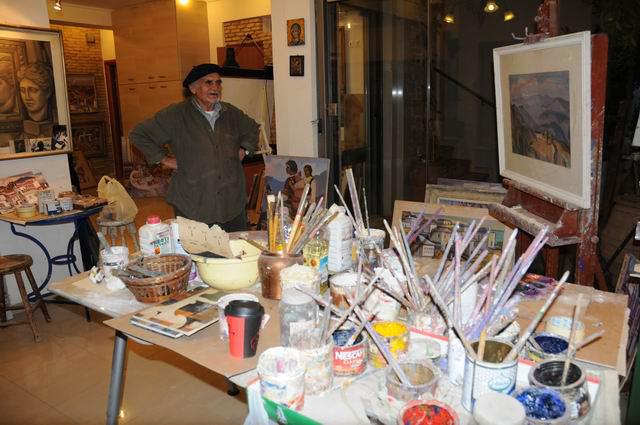 Giorgos Pitsios -  atelier pictura - Atena - Grecia - foto lucian muntean25