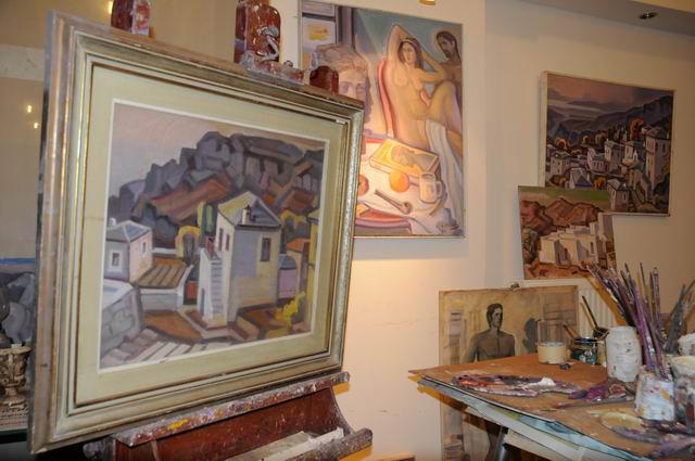 Giorgos Pitsios -  atelier pictura - Atena - Grecia - foto lucian muntean26