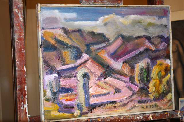 Giorgos Pitsios -  atelier pictura - Atena - Grecia - foto lucian muntean27