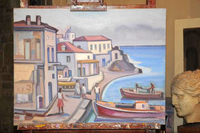 Giorgos Pitsios -  atelier pictura - Atena - Grecia - foto lucian muntean29