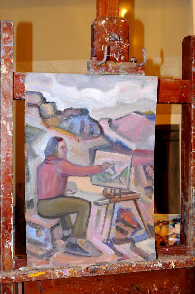 Giorgos Pitsios -  atelier pictura - Atena - Grecia - foto lucian muntean36