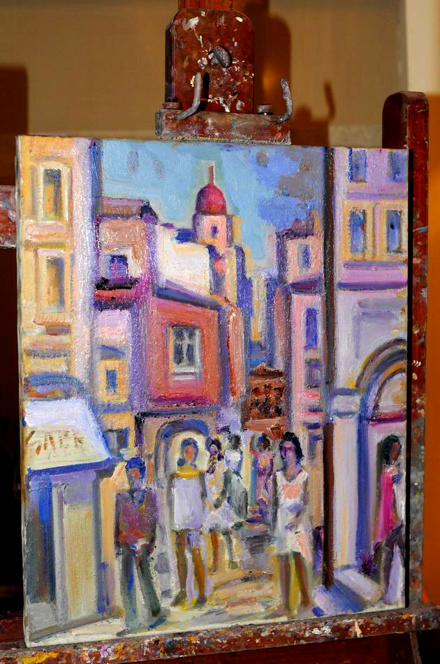 Giorgos Pitsios -  atelier pictura - Atena - Grecia - foto lucian muntean40