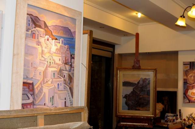 Giorgos Pitsios -  atelier pictura - Atena - Grecia - foto lucian muntean43