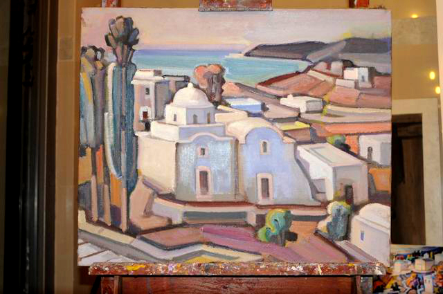 Giorgos Pitsios -  atelier pictura - Atena - Grecia - foto lucian muntean52