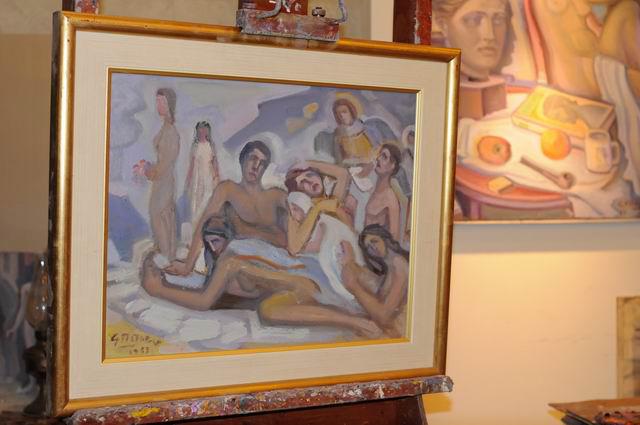 Giorgos Pitsios -  atelier pictura - Atena - Grecia - foto lucian muntean54