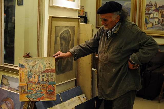 Giorgos Pitsios -  atelier pictura - Atena - Grecia - foto lucian muntean56