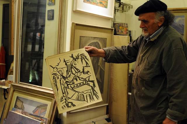 Giorgos Pitsios -  atelier pictura - Atena - Grecia - foto lucian muntean57