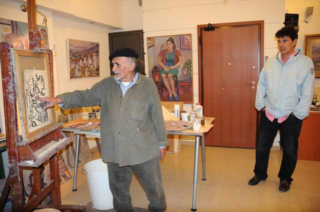 Giorgos Pitsios -  atelier pictura - Atena - Grecia - foto lucian muntean58