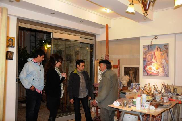 Giorgos Pitsios -  atelier pictura - Atena - Grecia - foto lucian muntean59