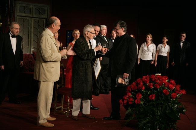 Radu Beligan, cel mai longeviv actor de teatru în activitate!