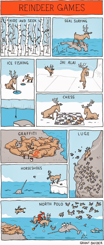 Reindeer Games by Incidental Comics