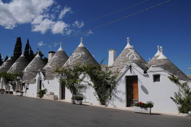 Alberobello – casele trulli