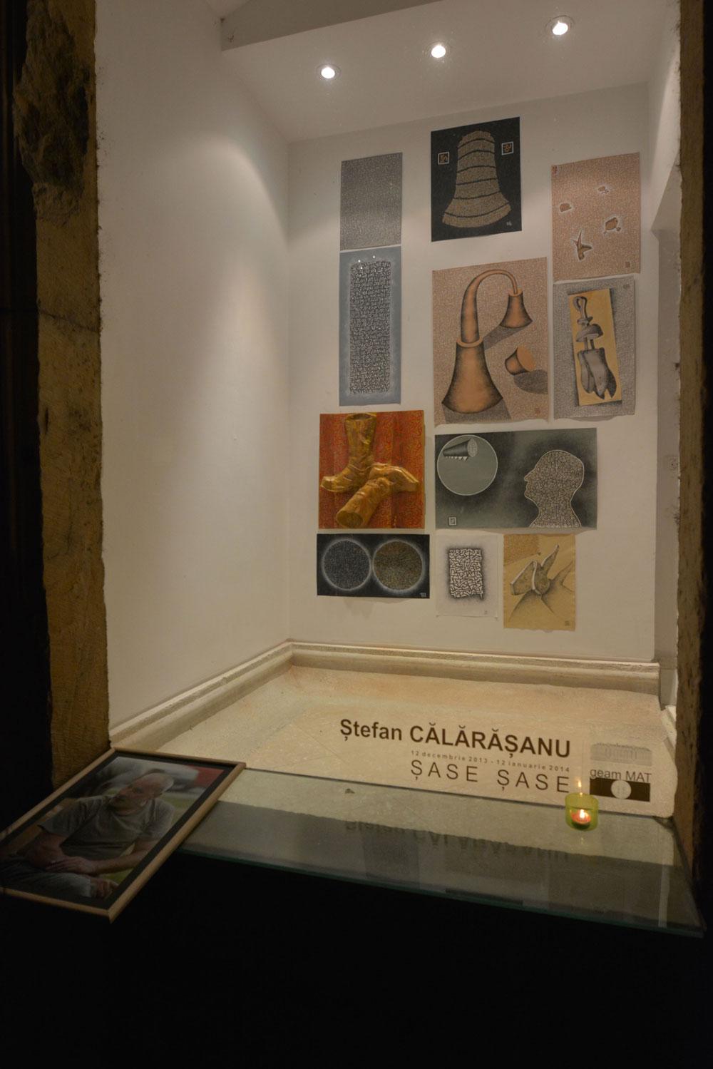 """Ștefan Călărășanu """"ȘASE ȘASE"""" @ galeria """"geamMAT"""" a Muzeului de Artă din Timișoara, imagini"""