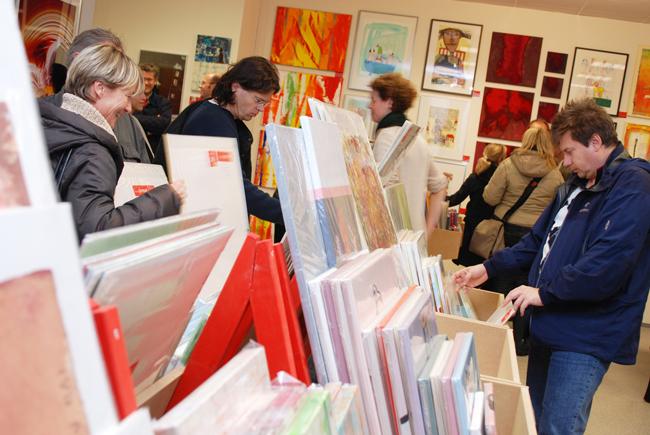 Supermarket de artă la Viena – pentru altfel de cadouri de Crăciun