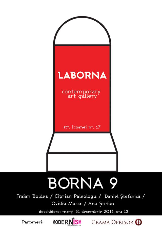 BORNA 9 @ Galeria LABORNA, București