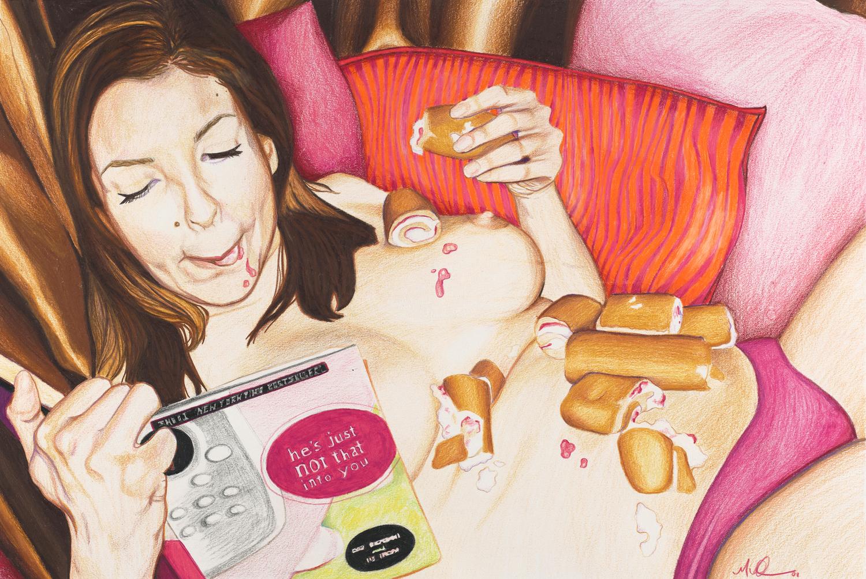 Paintings Of Modern Women