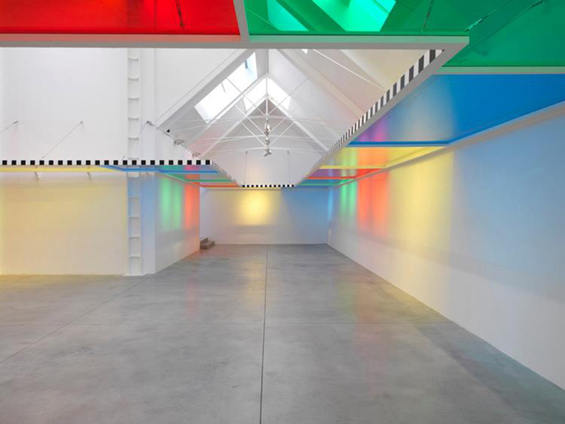 Daniel Buren's 'Perimeter For A Roomwork in Situ'