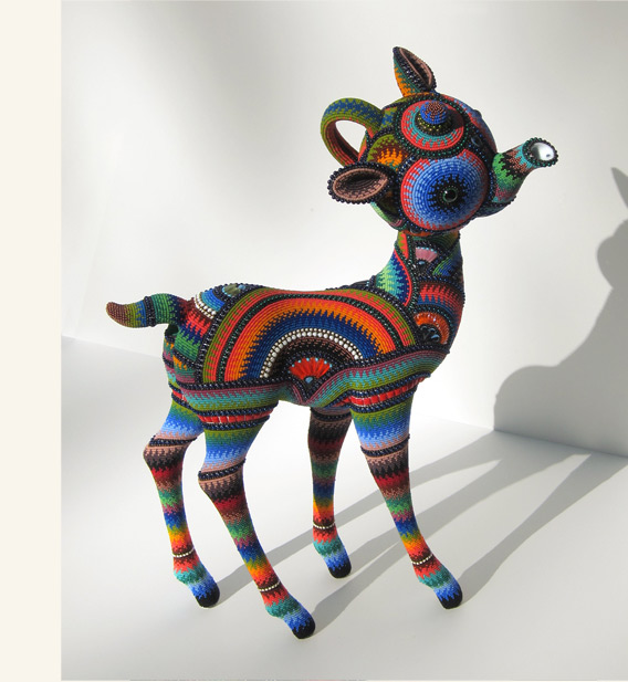 Jan Huling Transforms Simple Objects Into Beautiful Works of Beaded Art