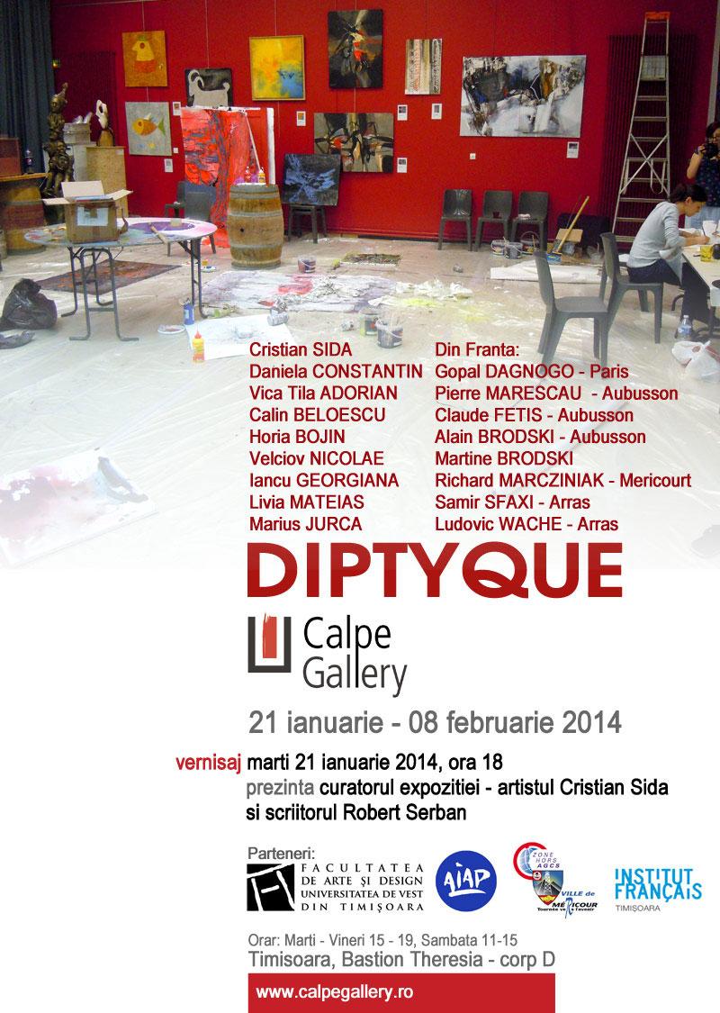 DIPTYQUE @ Calpe Gallery, Timișoara