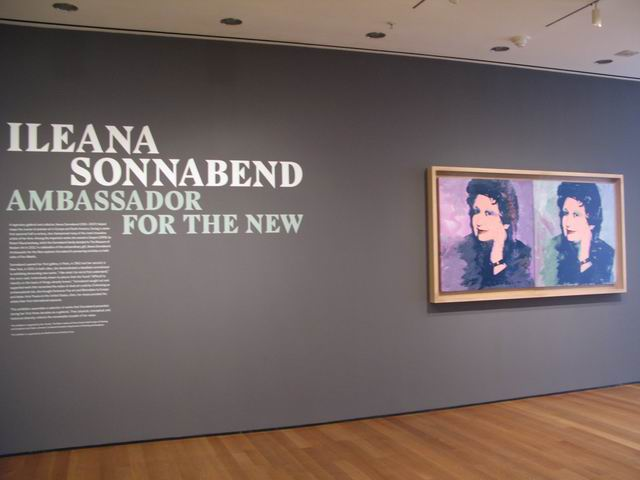 "ILEANA SONNABEND – ""Ambassador for the New"" @ MoMA"