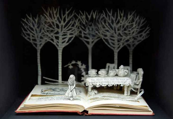 Su Blackwell Creates 3D Fairytale Dioramas Out Of Books