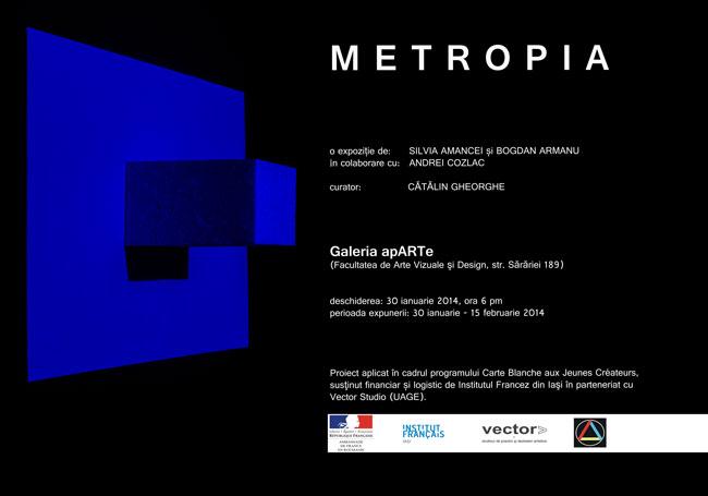 Bogdan Armanu & Silvia Amancei @ Vector Studio, Galeria apARTe, Iași
