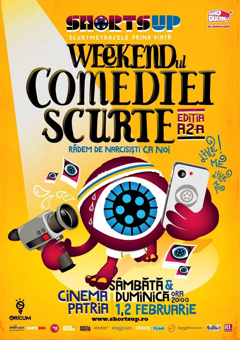 Weekendul Comediei Scurte, marca ShortsUP @ Cinema Patria București