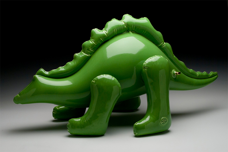 Delightful Ceramic Sculptures That Look Like Inflatable Toys