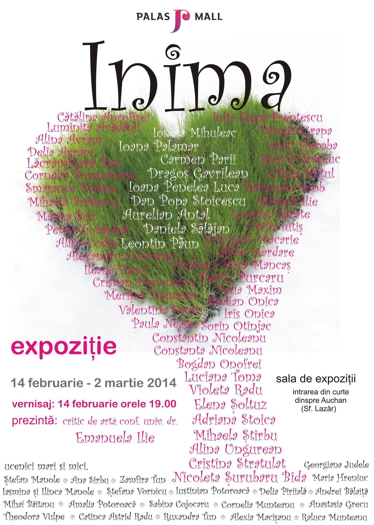 Expoziția INIMA, ediția a IV-a @ Palas Mall Iași
