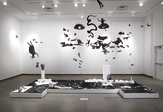 Andrew Scott Ross Elaborate Paper Dioramas Recreate Ancient History