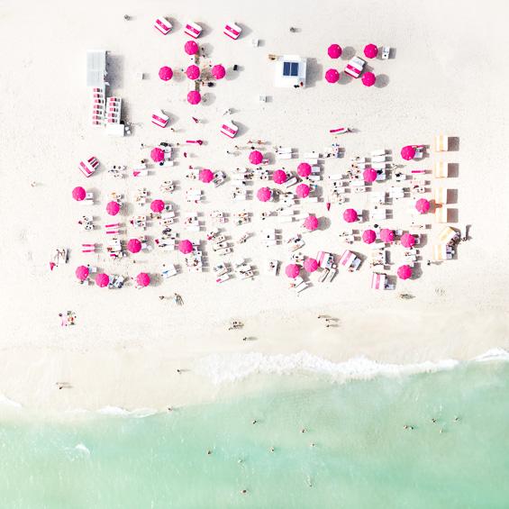 Antoine Rose's Risks Death To Take These Bird's Eye Photos Of Miami Beaches