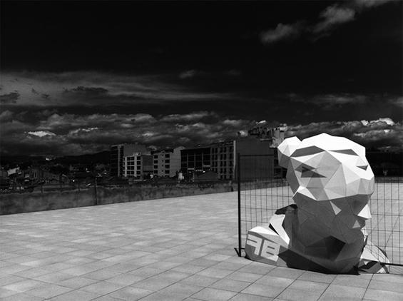 David Mesguich's Enormous Vectorized Sculpture