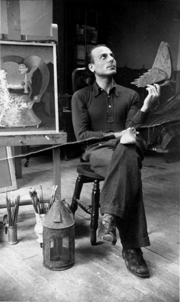 GHERASIM LUCA CHEZ VICTOR BRAUNER, 1938 / VICTOR BRAUNER /sc