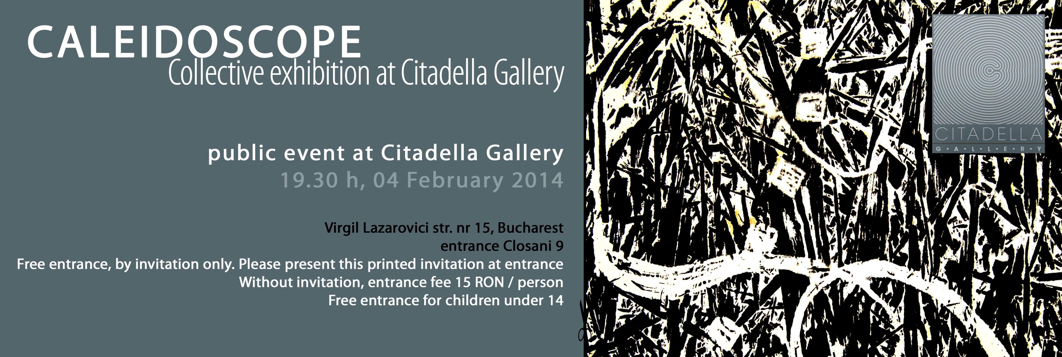 Caleidoscope – expoziție colectivă la Citadella Gallery, București