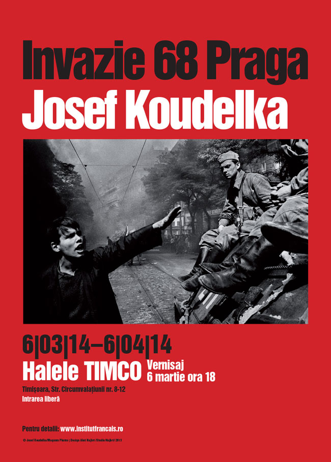 "Expoziție de fotografie, Josef Koudelka ""INVAZIE 68 PRAGA"" @ Halele Timco, Timişoara"