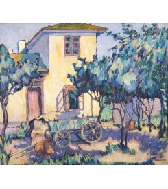 Theodorescu Sion - Casa la curte