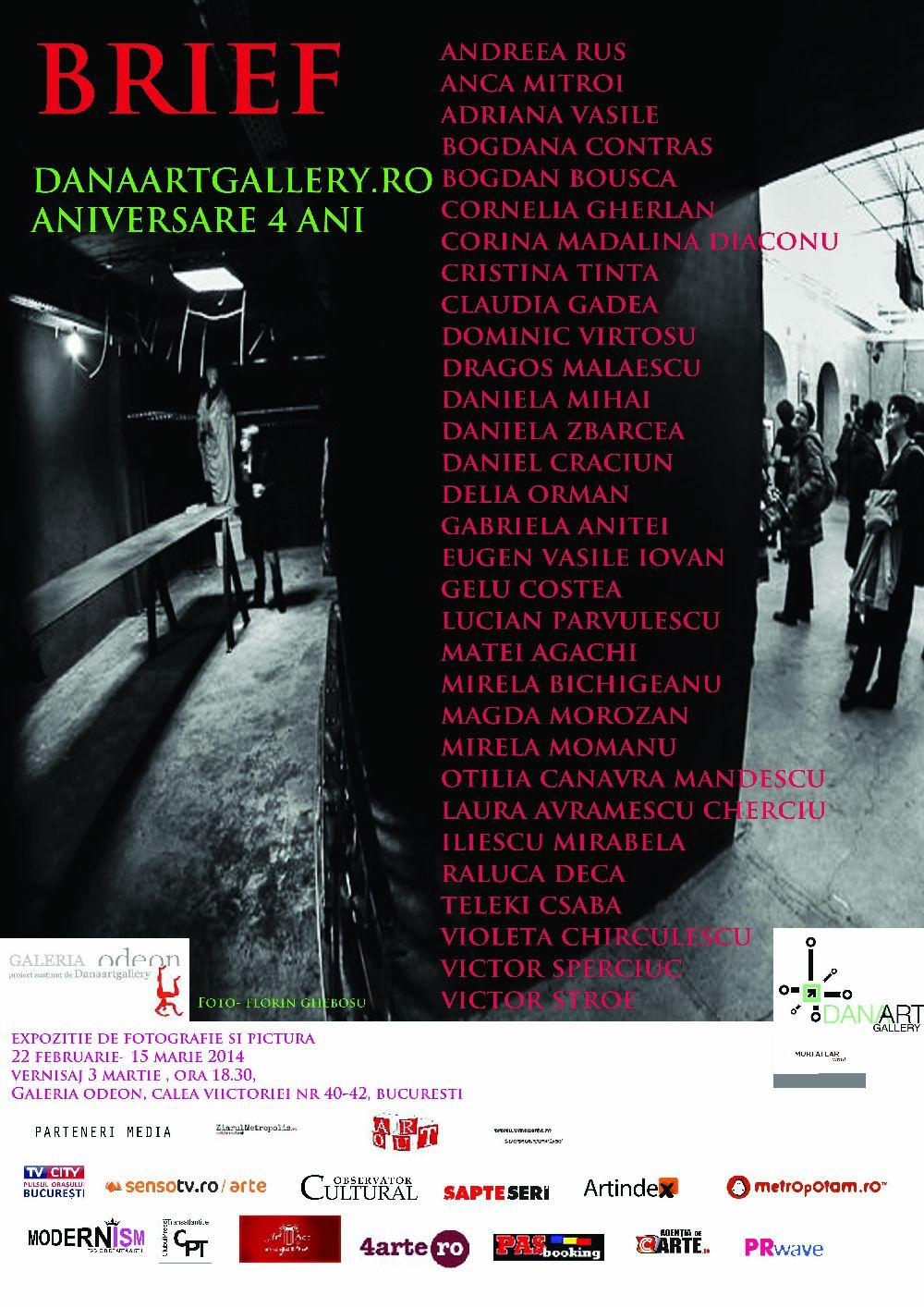 Expoziție aniversară 4 ani DanaArtGallery.ro @ Galeria Odeon, București