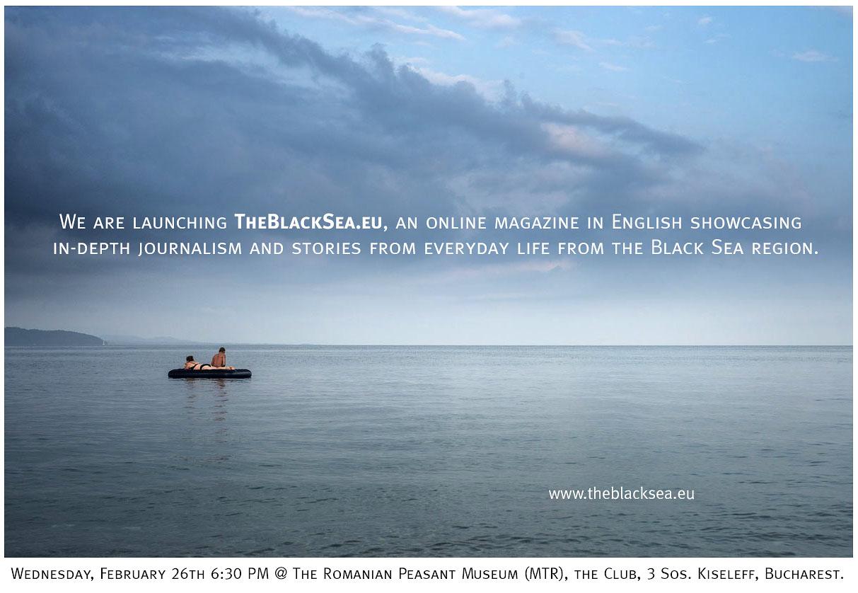 Lansare TheBlackSea.eu @ Muzeul Țăranului Român, Clubul Țăranului