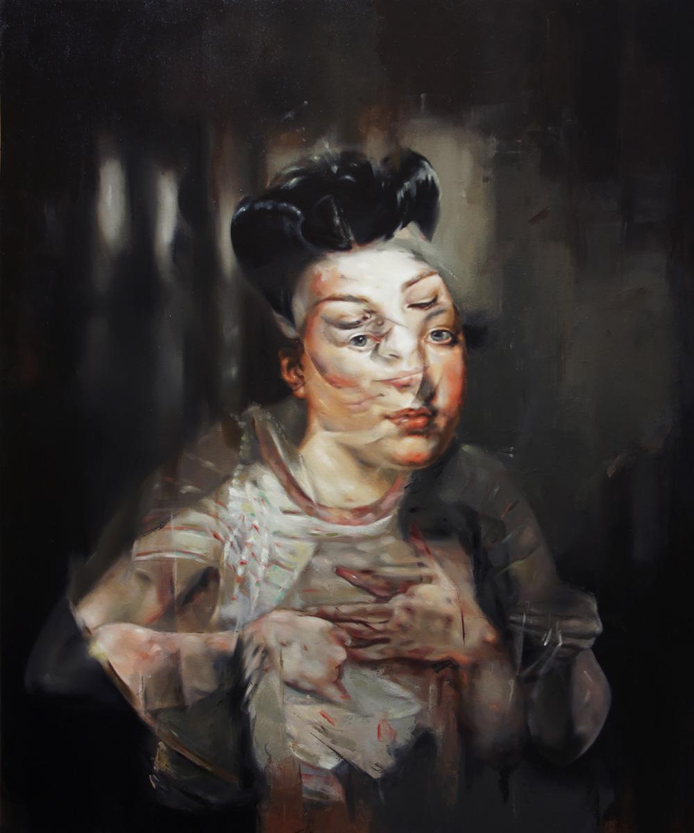 "Solo show Flavia Pitis, ""Back into Illusion"" @ Várfok Gallery, Budapest"