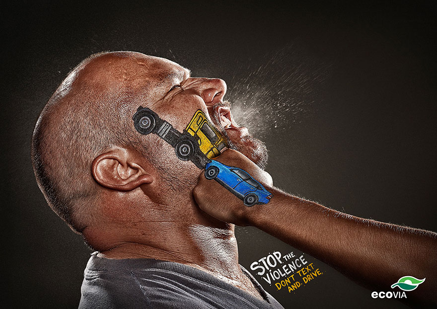 33 Powerful And Creative Print Ads That'll Make You Look Twice