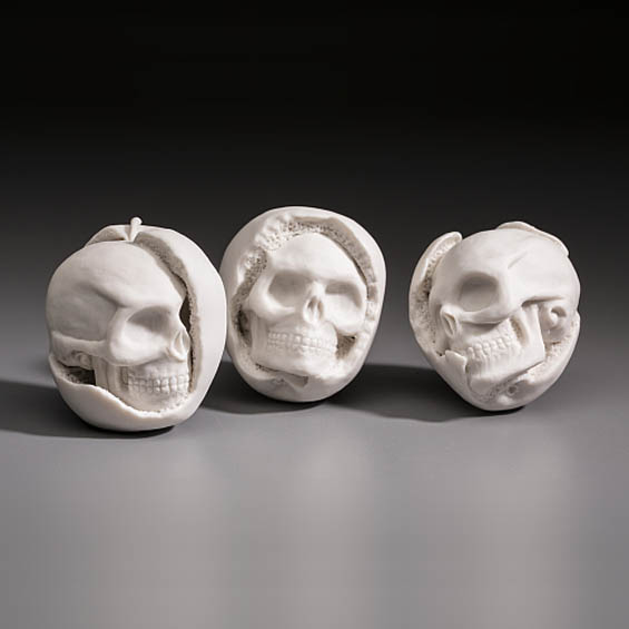 Kate MacDowell's Ghostly Porcelain Sculptures