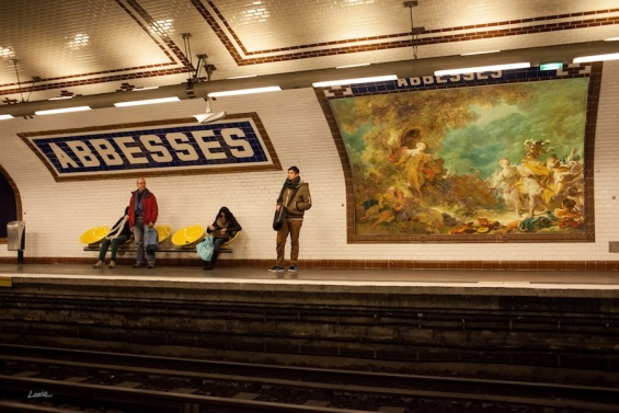 Etienne Lavie Replaces Public Advertising With Classic Art Masterpieces