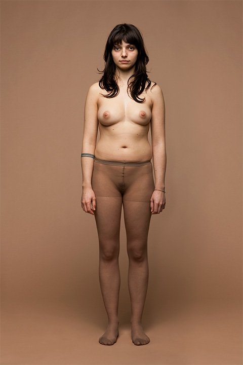 Marco Scozzaro Photographs Of Men And Women Wearing Nude Tights