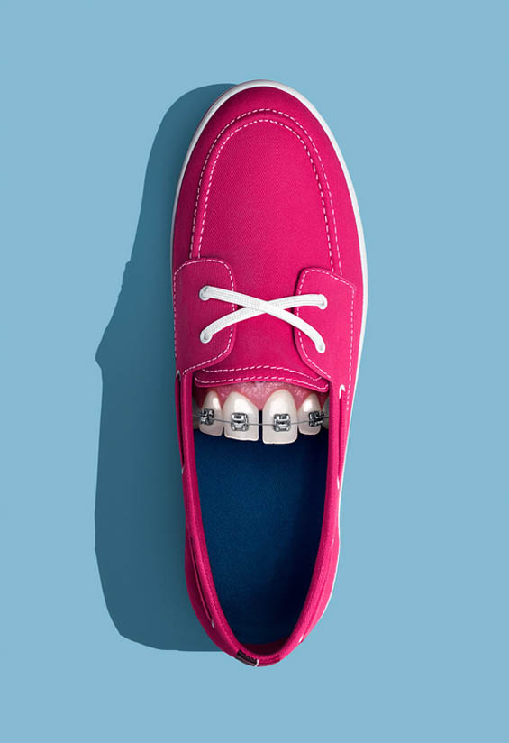 Amusing Photo Series Imagines If Shoes Had Teeth