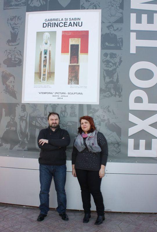 Gabriela si Sabin Drinceanu – atemporal @ Muzeul de Arta Vizuala Galati