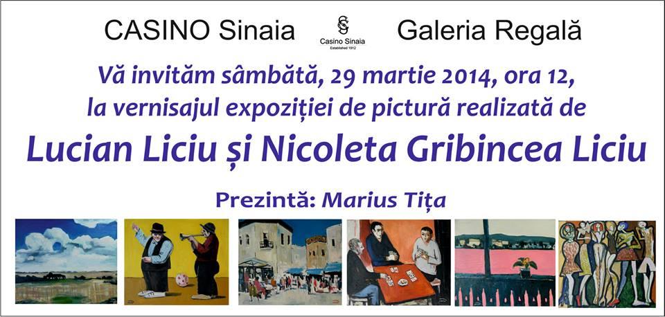 Lucian Liciu si Nicoleta Gribincea Liciu @ Casino Sinaia